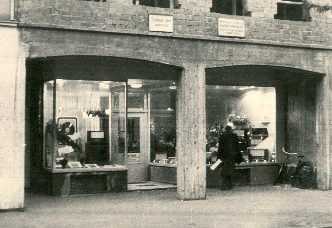 1951 nach dem Einzug